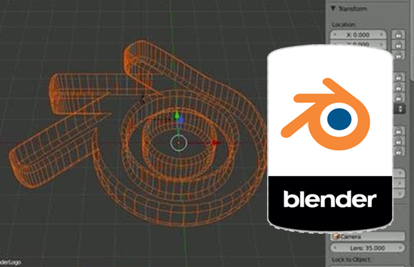 Imágen del curso de Iniciación a Blender 2.61