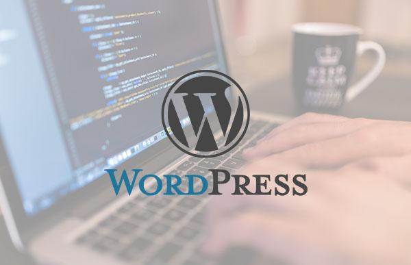Imágen del curso de WordPress